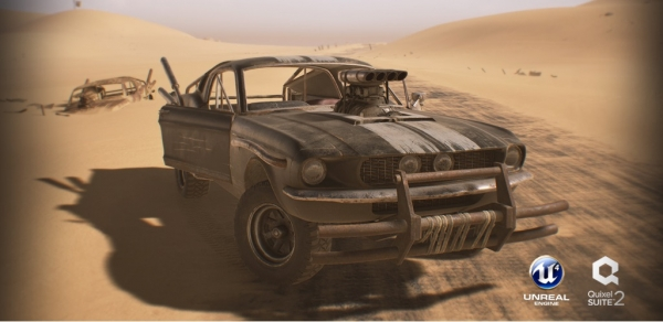 آموزش 3Dnice - Game Vehicle Development