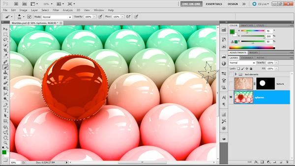 دانلود آموزش Lynda - Photoshop Masking Compositing - Advanced Blending
