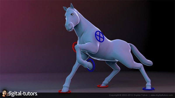 آموزش Digital Tutors - Rigging Quadrupeds in 3ds Max 2012