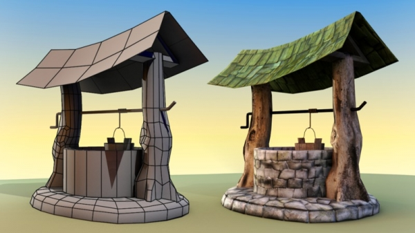 آموزش Digital Tutors - Creating a Stylized Set Element for Games in Maya