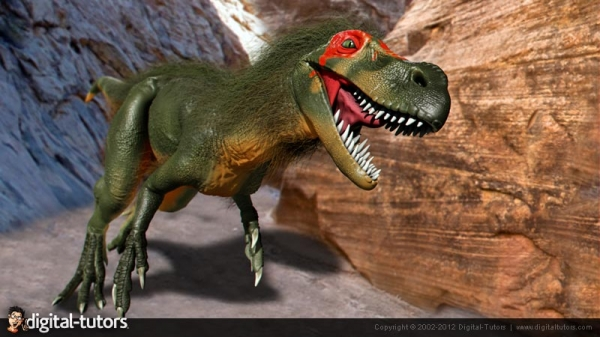 آموزش Digital Tutors - Dinosaur Reconstruction in ZBrush