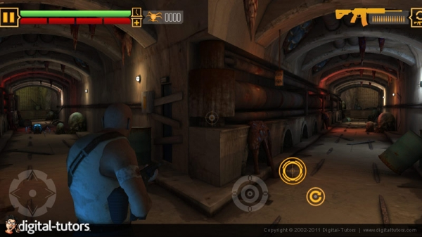 آموزش ساخت بازی برای موبایل - نورپردازی و نقشه برداری نور Digital Tutors - Unity Mobile Game Development Series - Lighting and Lightmapping