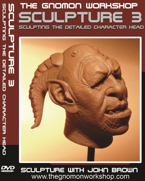 آموزش مجسمه سازی - قسمت سوم - حجاری سر کاراکتر با جزئیات