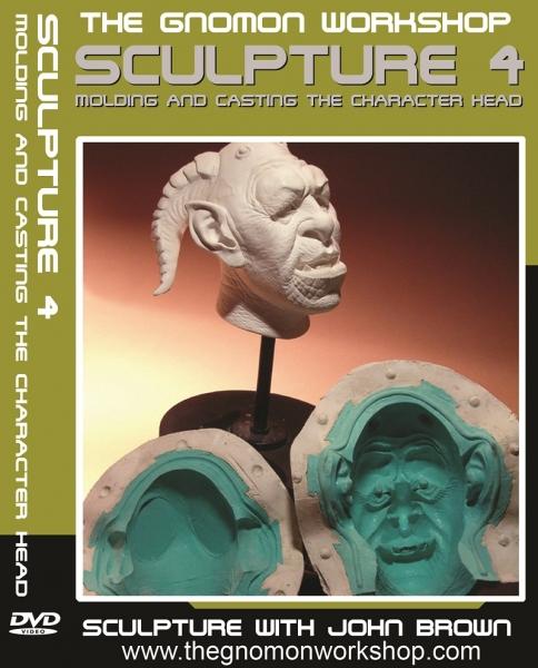 آموزش مجسمه سازی - قسمت چهارم - قالب گیری و ریخته گری سر
