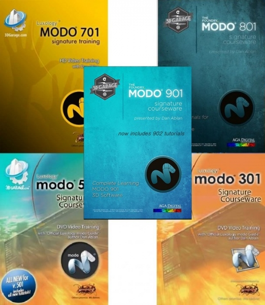 مجموعه بزرگ آموزشی نرم افزار مودو