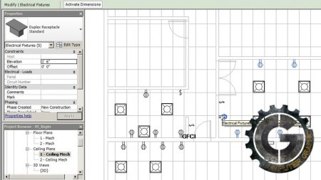 دانلود رایگان آموزش Digital Tutors - Designing Electrical Circuits in Revit 2014