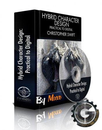 آموزش Stan Winston School - Hybrid Character Design - Practical to Digital