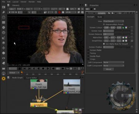 دانلود آموزش Digital Tutors - Keying Greenscreens in NUKE