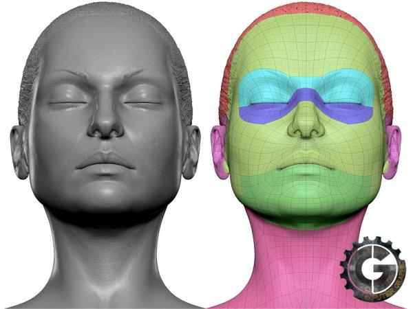 آموزش ZbrushWorkshops - Texturing & Rendering Realistic Skin