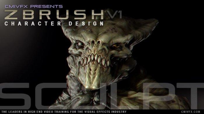 آموزش cmiVFX - ZBrush Character Concept Design
