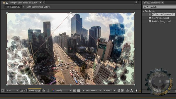 آموزش Digital Tutors - Creating and Using Track Mattes in After Effects