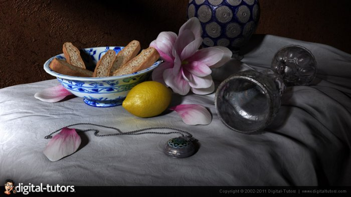 آموزش Digital Tutors - Creative Development - Still Life Texturing in Mudbox