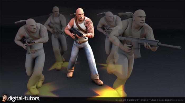 آموزش ساخت بازی برای موبایل - اسکریپت نویسی برای کاراکتر Digital Tutors - Unity Mobile Game Development Series - Character Scripting