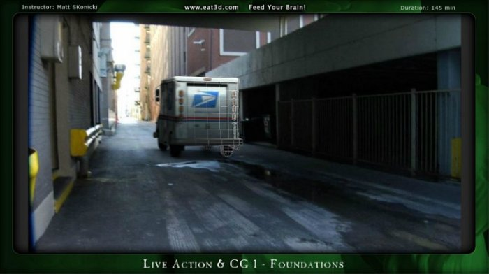 آموزش Eat3D - Live Action and CG 1 - Foundations
