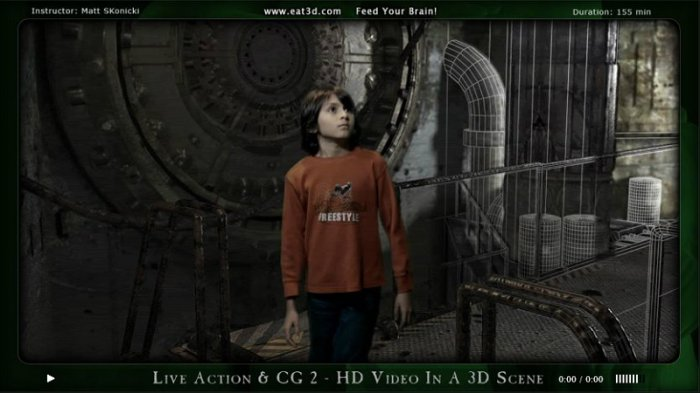 آموزش Eat3D - Live Action and CG 2 - HD Video in 3D