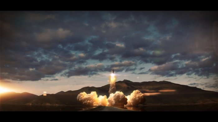 آموزش Digital Tutors - Simulating a Rocket Launch Sequence in 3ds Max and Fume FX