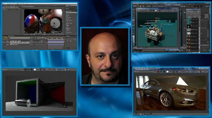 آموزش Lynda - Learning V-Ray for Maya - A Professional Reference Guide