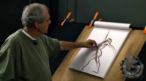 آموزش Gnomon Workshops - Drawing the Figure - Volume One - Capturing the Gesture