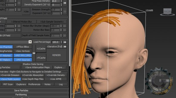 آموزش Digital-Tutors - Creating Production Quality Hair Using KRAKATOA in 3ds Max