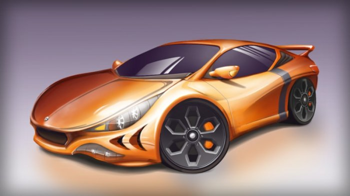 آموزش Digital Tutors - Creating Automotive Concepts in SketchBook Pro