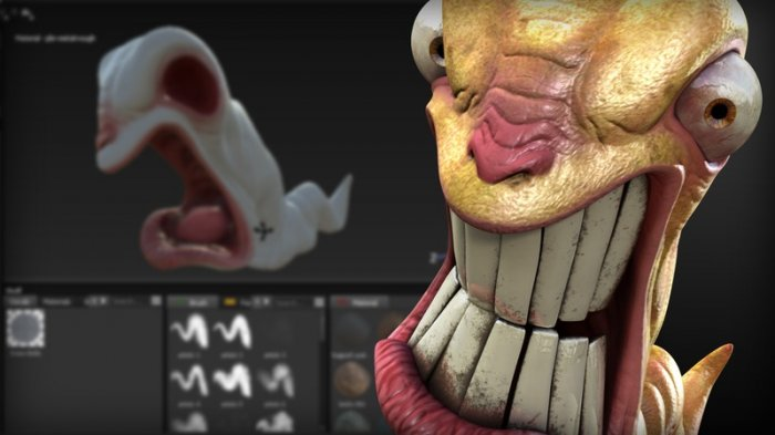 آموزش Digital Tutors - Introduction to Substance Painter