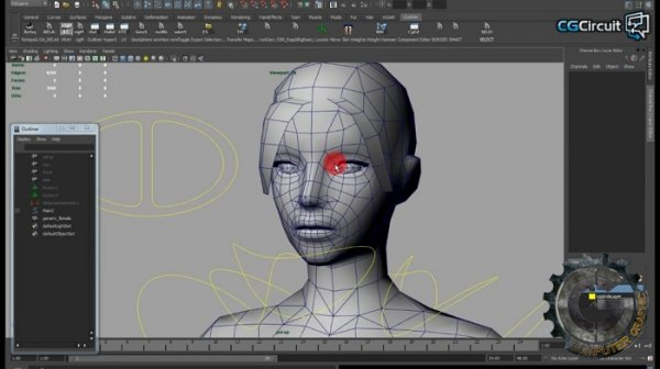 آموزش CGCircuit - 3d Character Art for Games III