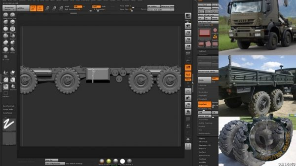 آموزش Gumroad - Recovery Truck Concept Part 1 by Kirill Chepizhko