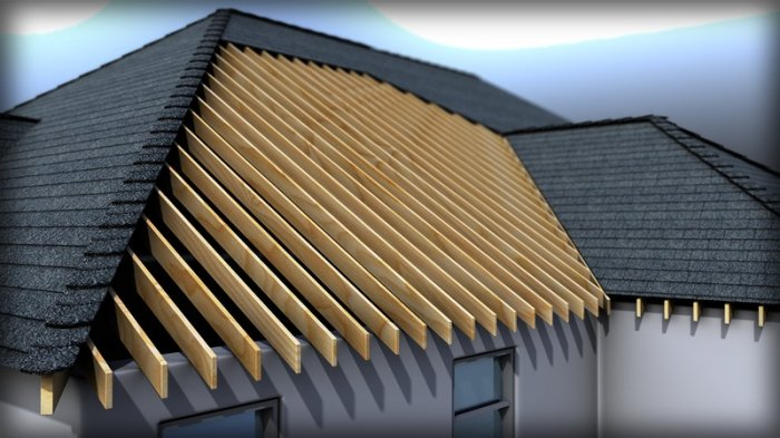 آموزش Digital Tutors - Modeling Roof Formations Structures and Materials in Revit