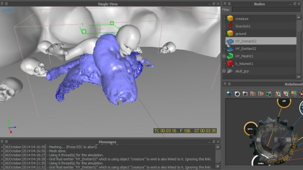 آموزش Digital Tutors - Introduction to RealFlow 2014