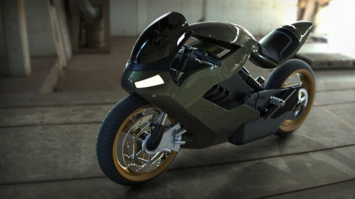 آموزش Digital Tutors - Modeling Advanced Surfaces to Create a Sci-Fi Motorcycle in Rhino