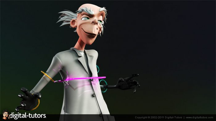 آموزش Digital Tutors - Rigging Cartoon Characters in CINEMA 4D