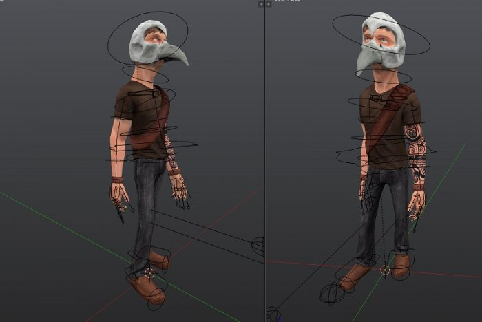 آموزش Blender Cookie - Low Poly Character Creation Training
