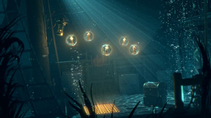 آموزش Digital Tutors - Creating Cinematic Underwater Lighting in Maya