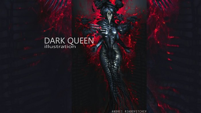 آموزش Gumroad - Dark Queen by Anderi Riabovitchev